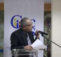 QUITO, Ecuador.- Arturo Cabrera se incorporó como juez principal del TCE, en noviembre de 2016. Foto: API