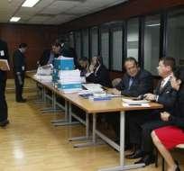 ECUADOR.- La fiscal general (S), Ruth Palacios, emitió dictamen abstentivo a favor de Wilson M., Xavier N. y Carlos G. Foto: API