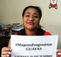 GUAYAQUIL, Ecuador.- Exdirectora de cárcel de mujeres fue asesinada al salir de su trabajo. Foto: Twitter Juan Rodríguez.