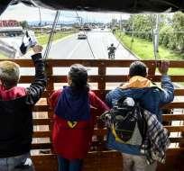 PERÚ.- La emergencia sanitaria afecta a Aguas Verdes, Zarumilla y Tumbes, frontera con Ecuador. Foto: AFP