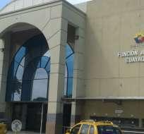 GUAYAQUIL, Ecuador.- El caso se tratará en una audiencia en la Unidad Judicial de Albán Borja. Foto: Fiscalía.