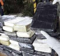 COSTA RICA.- La lancha con la droga fue interceptada a 90 millas náuticas del litoral, en el Pacífico. Foto: Archivo