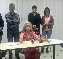 La exfuncionaria indicó que se postulará para el Consejo de Participación definitivo. Foto: Twitter @CPCCS