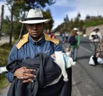 Un diario de una familia venezolana. Foto: AFP