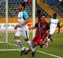 QUITO, Ecuador.- Manuel Balda anotó el segundo gol del cotejo al minuto 43. Foto: API