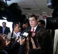 Su reemplazo será María Paulo Romo, según indicó el funcionario a un medio quiteño. Foto: APi
