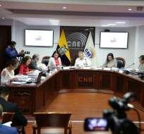 ECUADOR.- El Consejo de Participación designó a un CNE transitorio para los próximos 60 días. Foto: Twitter