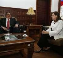 QUITO, Ecuador.- La nueva autoridad anunció su primera reunión con el mando de la Policía.