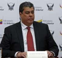 El exministro del Interior informó sobre su gestión al frente de la Cartera. Foto: API