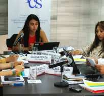 Comisión de Selección entrega nombres de vocales del CNE. Foto: Twitter