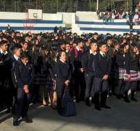 5.700 extranjeros ingresan al sistema educativo en Ecuador. Foto: Ministerio de Educación