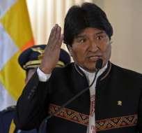 BOLIVIA.- Según la oposición, esto favorece los planes de una cuarta postulación de Evo Morales. Foto: Archivo