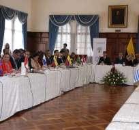 Bolivia y República Dominicana no firmaron el documento de la Declaración de Quito. Foto: API