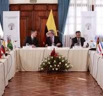 """Venezuela, que no acudió al encuentro, acusa a la ONU de promover una """"intervención"""". Foto: API"""
