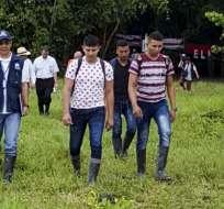 Liberación se da que venza el plazo para evaluar si se retoman diálogos de paz. Foto: AFP
