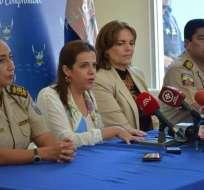 GUAYAQUIL, Ecuador.- Autoridades trazan estrategias para frenar delincuencia en Guayas. Foto: Twitter Interior Ec.