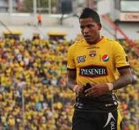 Arroyo fue suspendido por dos fechas por lo que se perdería el cotejo contra Emelec.