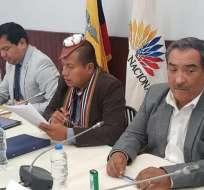 ECUADOR.- En el documento, de 46 páginas, constan versiones de los exfuncionarios de Gobierno. Foto: Archivo