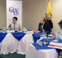 Organismo rechazó recurso de revisión planteado por los tres jueces cesados. Foto: Twitter Cpccs