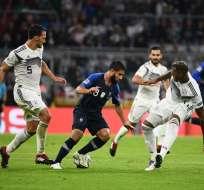 El encuentro, que se disputó en Munich, terminó 0-0. Foto: FRANCK FIFE / AFP