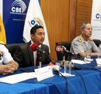 Según CNE, el plan busca optimizar el uso de los recursos del organismo electoral. Foto: Twitter