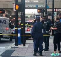 Cuatro muertos, entre ellos el atacante, en tiroteo en EEUU. Foto: Twitter