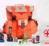 Sismo: Mantén la calma y prepara una mochila de emergencia. Foto: Referencial