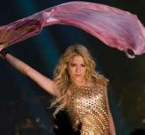 Shakira estará en Ecuador en noviembre