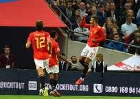 La 'Roja' superó 2-1 a Inglaterra en la Liga de Naciones de la UEFA. Foto: Glyn KIRK / AFP