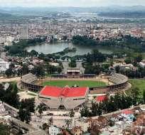 El hecho ocurrió a la entrada del estadio de Mahamasina de Madagascar. Foto: Tomada de commons.wikimedia.org