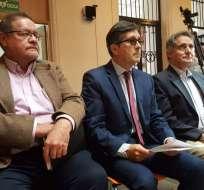 QUITO, Ecuador.- Según el exasambleísta, esta ley permitirá la liberación del exvicepresidente Jorge Glas. Foto: API