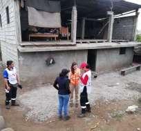 Se reanudan parcialmente las clases en Chillanes tras sismo. Foto: Secretaría de Riesgos