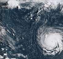 El Centro Nacional de Huracanes no ha emitido aún alertas ni advertencias por la tormenta. Foto: AFP