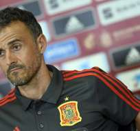 El entrenador de la selección española reveló eso en rueda de prensa. Foto: JOSE JORDAN / AFP