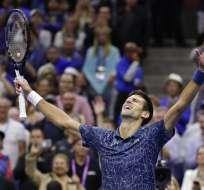 El tenista serbio ganó el US Open y subió al tercer puesto del ranking ATP. Foto: AP Foto/Julio Cortez