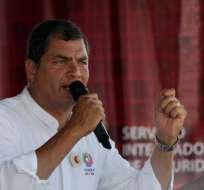 Investigación por supuesta delincuencia organizada inicia tras denuncia de César Montúfar. Foto: Archivo Flickr Presidencia