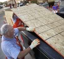 Los meteorólogos pronostican que Florence se fortalecerá en las próximas 36 horas. Foto: AFP