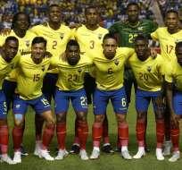 BRIDGEVIEW, EE.UU.- Ecuador venció 2-0 a la Guatemala y culminó con éxito su gira por Norteamérica. Foto: AFP