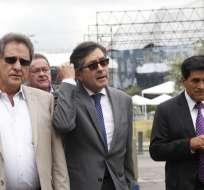 QUITO, Ecuador.- El exasambleísta acusa a Rafael Correa y otros exfuncionarios de delincuencia organizada. Foto: API