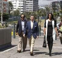 QUITO, Ecuador.- Andrea Utreras, una de las denunciantes, demanda acciones inmediatas de la Fiscalía. Foto: API