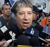 El técnico de la selección ecuatoriana explicó por qué no quiere amistosos de visitante. Foto: Tomada de @FEFecuador