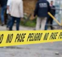 La causa del crimen sería una lucha de territorio por tráfico de drogas. Foto referencial