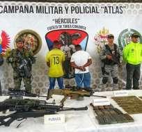 'Pelusa' sería el presunto responsable de movilizaciones forzadas del grupo Oliver Sinisterra. Foto: Hércules