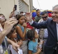 """No se debe descartar """"intervención militar"""" en Venezuela, según Almagro. Foto: AFP"""