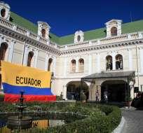"""QUITO, Ecuador.- La Cancillería aseguró que """"solo una salida pacífica"""" podrá resolver el conflicto social. Flickr Cancillería."""