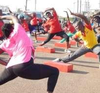 En este país, solo alrededor del 5 % de la población no hace ejercicio.
