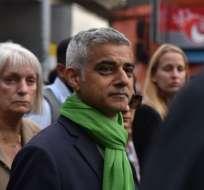 Sadiq Khan se convirtió en el primer alcalde de Londres en ser musulmán.
