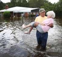 Delaware, Maryland y Pensilvania pueden verse afectadas por la subida de las aguas. Foto: AFP