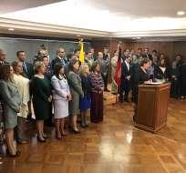 QUITO, Ecuador.- Según su titular, no puede anticiparse criterio al decir que saldrán varios jueces. Foto: Twitter