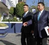QUITO, Ecuador.- La diligencia de Castro es parte de la investigación por ejecución extrajudicial de Froilán Jiménez. Foto: API